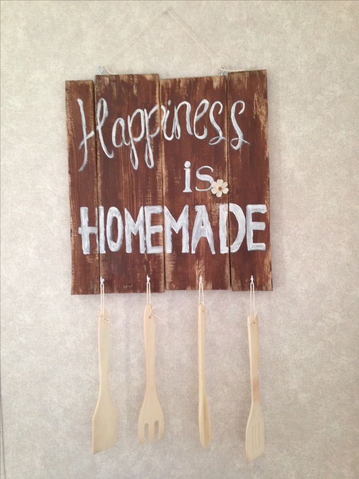 Happiness is homemade (kitchen)