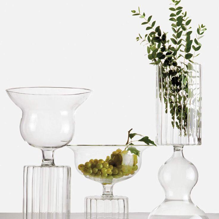 Veni vedi vici by Sam Baron hand blown vases