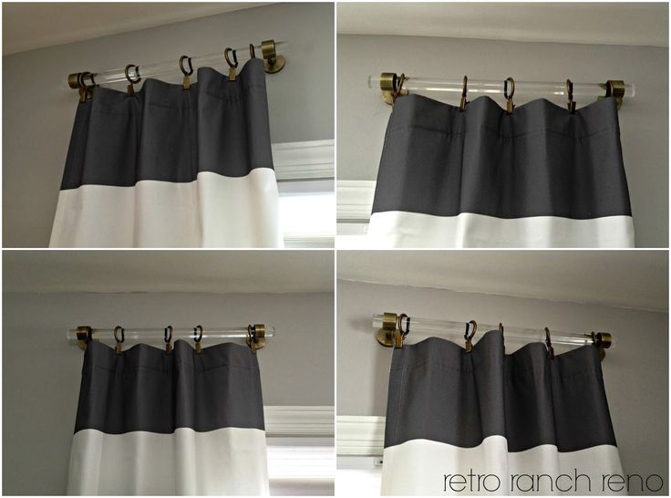 25 Best Ideas About Short Curtain Rods On Pinterest Model Home Decorating Round Dining Table