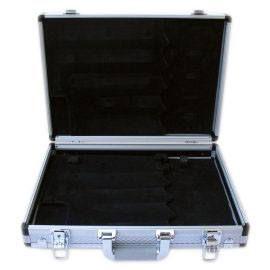 Βαλίτσα Κενή (άδεια) Μαχαιριών Ιταλίας Paolucci Coltellerie. Η βαλίτσα ειναι κατασκευασμένη από αλουμίνιο και PVC. Συσκευασία: 1 τεμάχιο