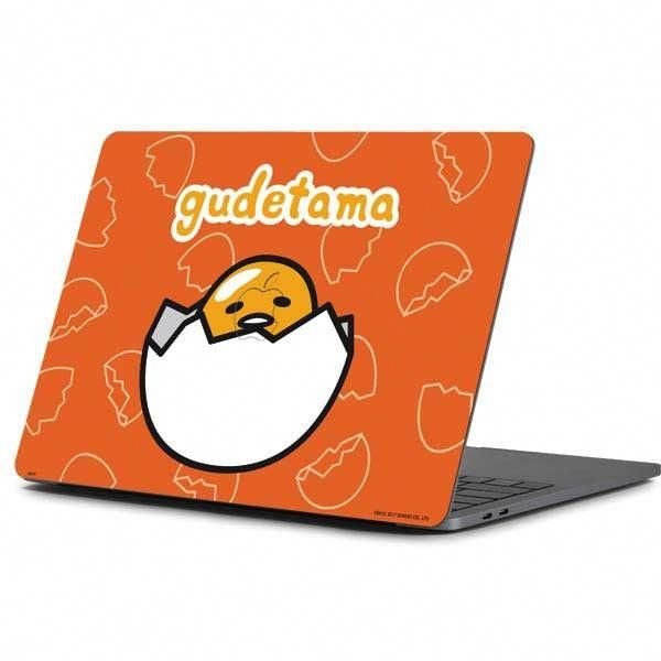 Bright Orange And Adorable The Gudetama Shell Pattern Macbook Pro 13 Inch 2016 Skin Is A Necessary Macbook Pro 13 Inch 2016 Accessor Gude Tama Tama Gude