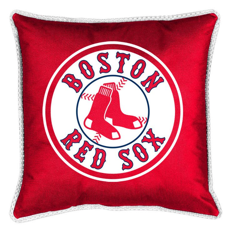 MLB Boston Red Sox Sidelines Throw Pillow