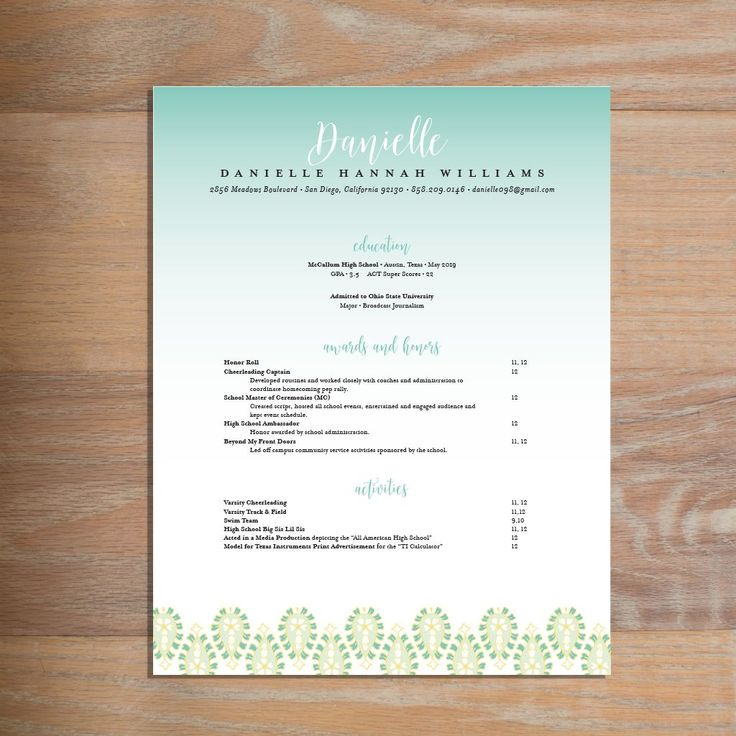 dallas resume service%0A Fresh Paisley sorority resume    This social resume for sorority  recruitment features a chic script