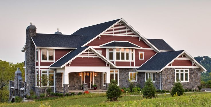 16 Best Houses With Red Shingles Images On Pinterest