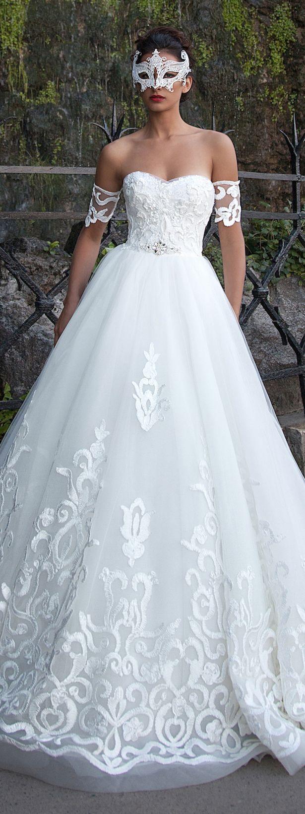 233 best Wedding dresses images on Pinterest | Wedding frocks ...