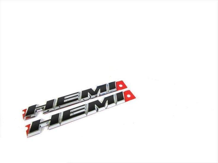 Wrangler Ram Charger Challenger 2 Hemi Emblems Genuine New In 2020 2012 Dodge Journey Dodge Journey Hemi