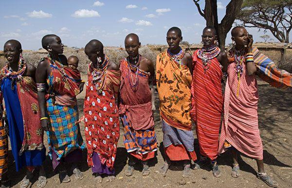 vestimenta africana