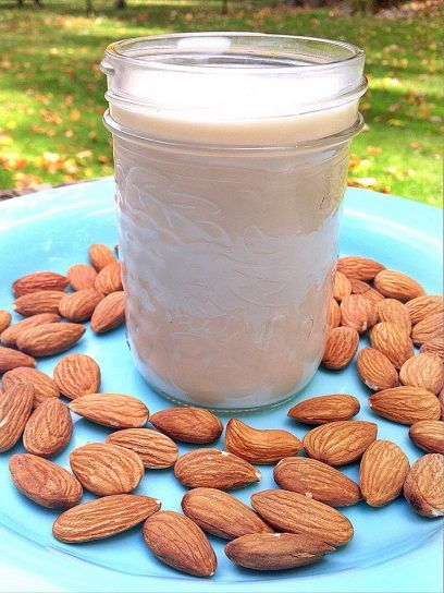 When I want to treat myself to the Real Deal almond milk, this is the recipe I use. It takes a little work to strain the almond pulp out, but it's really worth it.  The taste is so fresh and there is no comparison between this and the store bought variety.  You will need cheese cloth or nut bag to strain the pulp.  Almonds are alkaline forming and a fantastic source of vitamin E, so bottoms up! If you are interested, invest in a nut bag, they are relatively cheap and make straining milk a…
