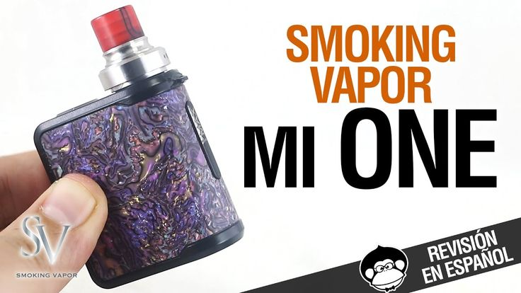 mi ONE by Smoking Vapor / EL MOD MÁS ADORABLE DEL MUNDO / revisión