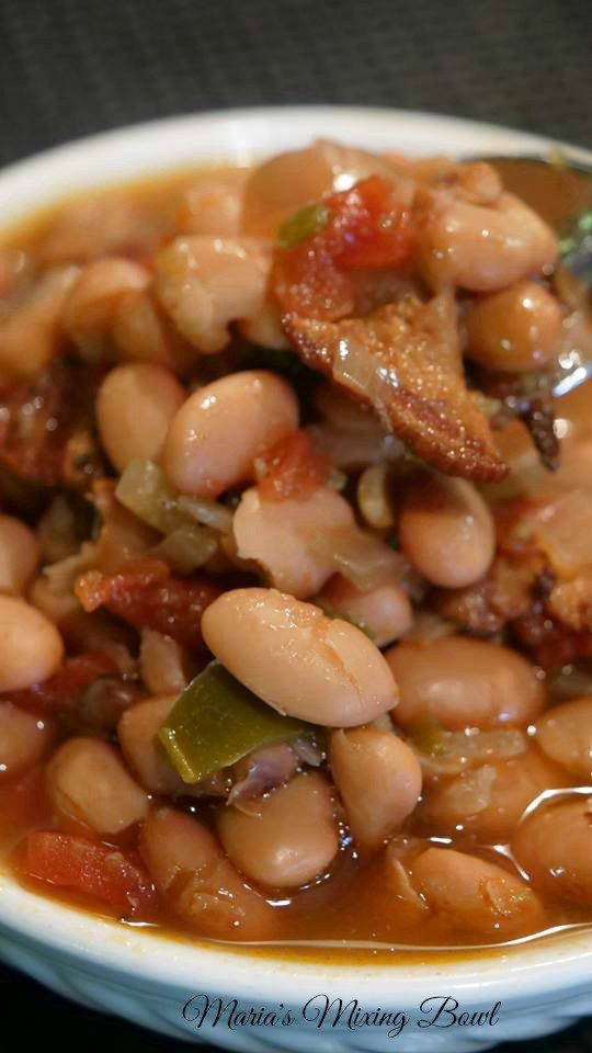 Slow Cooker Spicy Pinto Beans Maria S Mixing Bowl Mexican