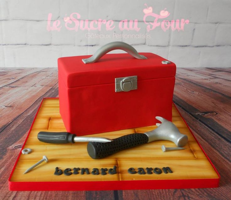 Tool box cake, all edible                                                       …