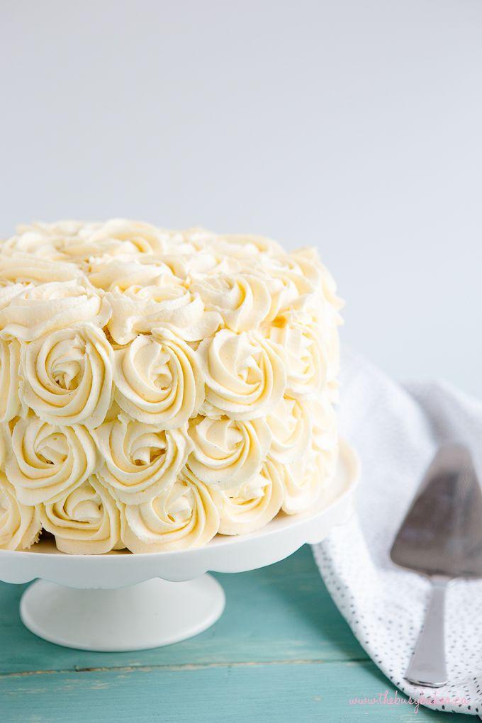 Remarkable Best Ever Vanilla Bean White Cake Recipe White Birthday Cakes Personalised Birthday Cards Akebfashionlily Jamesorg
