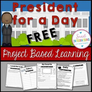FREE Presidents' Day; Would you like to be president for one day? This is a great mini-unit in celebrating Presidents' Day. And, it's FREE! As president, you have important duties, make important decisions, and events to attend.