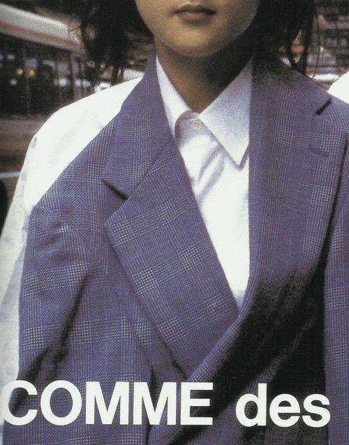 tresbienvisuals:  Old Comme des Garcons adTrès Bientres-bien.com