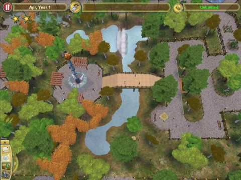 ▶ Zoo Tycoon 2 - Temperate forest zoo and entrances ideas - YouTube