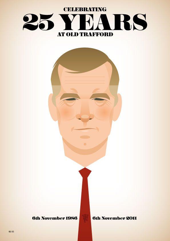 Sir Alex Ferguson, by Stanley Chow