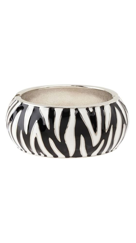 Black & White Zebra Print Cuff.