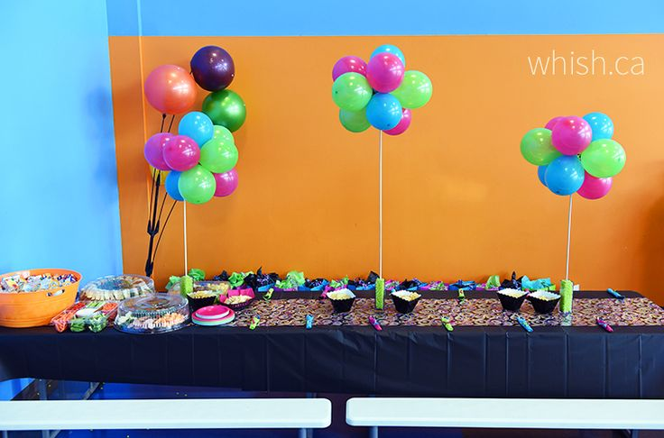 Single use party supplies are a key ingredient in a low-stress pop up party. In one single swoop of a plastic table cloth you can clean up your party in seconds. | Whish.ca