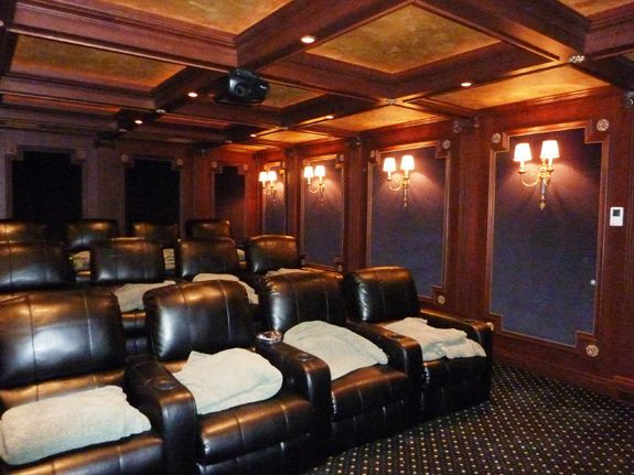 78 Best Images About Media/ Home Theater Design Ideas On Pinterest