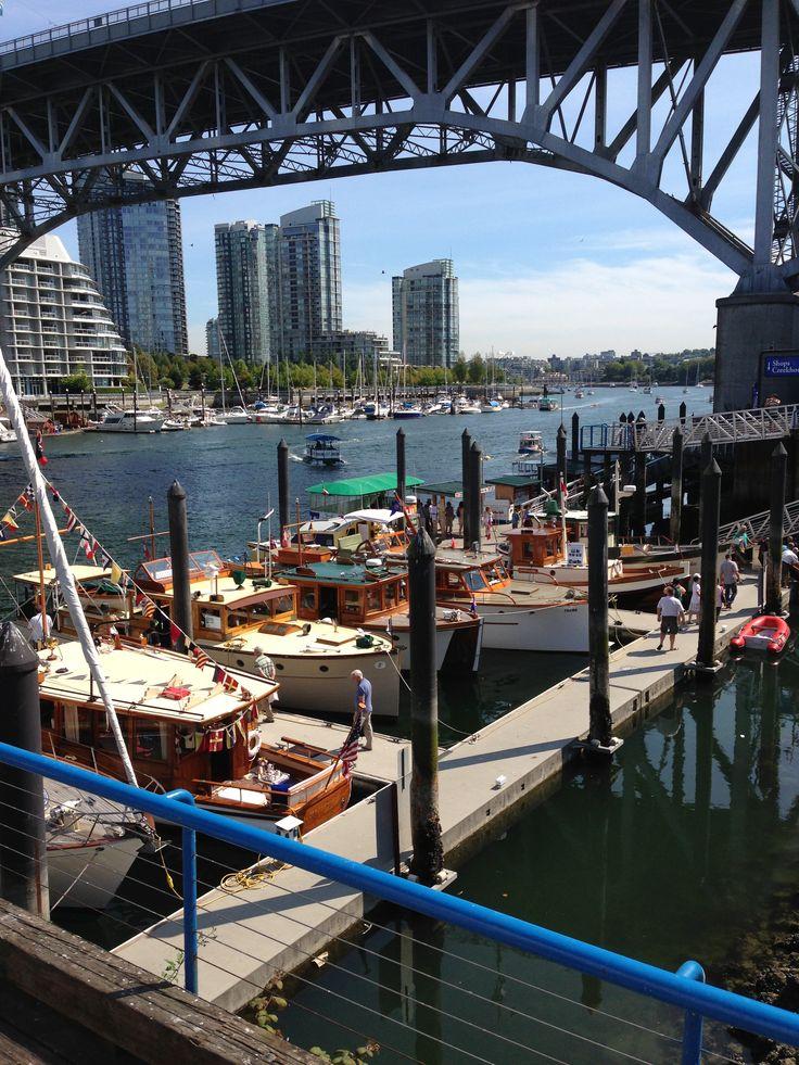 The wooden boat festival @ Granville island