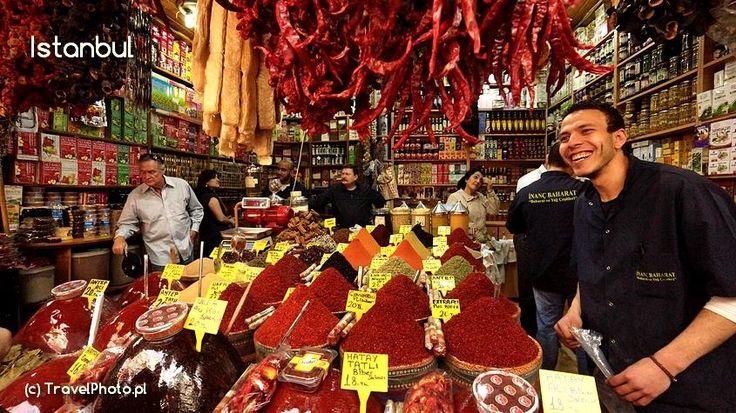 Turkey - Istanbul (Turcja, Stanbuł) #Istanbul Spice Bazaar  - blog  http://malypodroznik.pl/swiat/turcja2014/tur14_blog00.htm