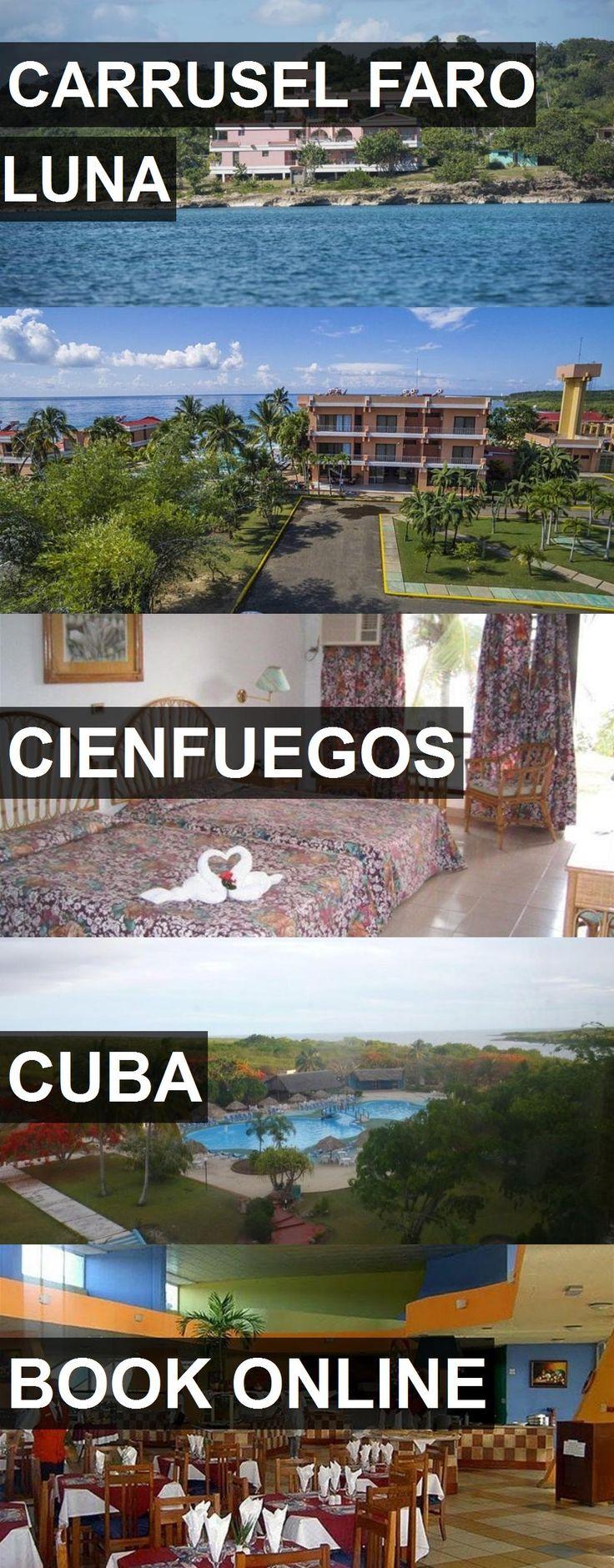 Hotel CARRUSEL FARO LUNA in Cienfuegos, Cuba. For more information, photos, reviews and best prices please follow the link. #Cuba #Cienfuegos #CARRUSELFAROLUNA #hotel #travel #vacation