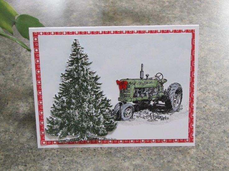 17 Best Images About Christmas Tractors On Pinterest