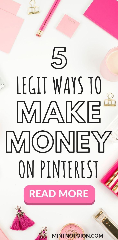 5 Brilliant Ways To Make Money With Pinterest – Nextcarrot | Personal Finance, Entertainment & Motivation