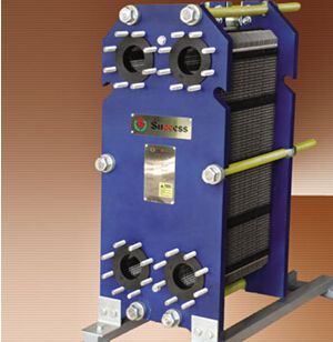 Stainless steel flat plate heat exchanger