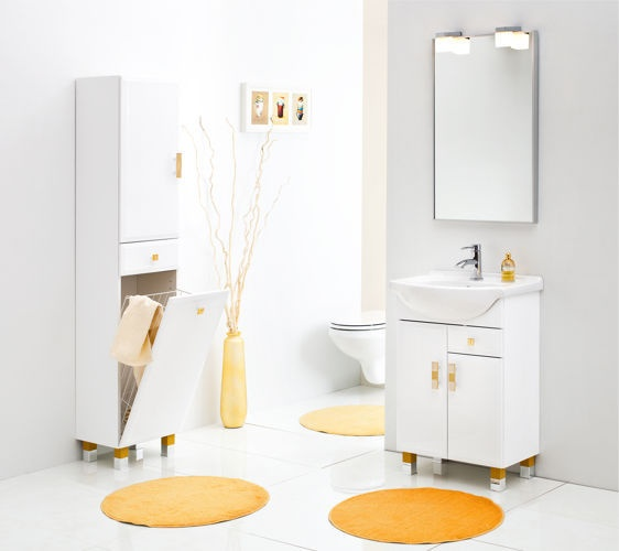 ALDEA bathroom furniture #lazienka #meble #szaka #umywalka #cabinet #washbasin