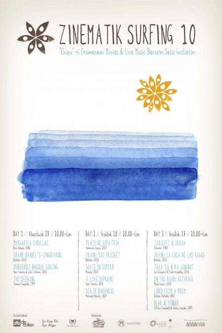 Surf festival poster