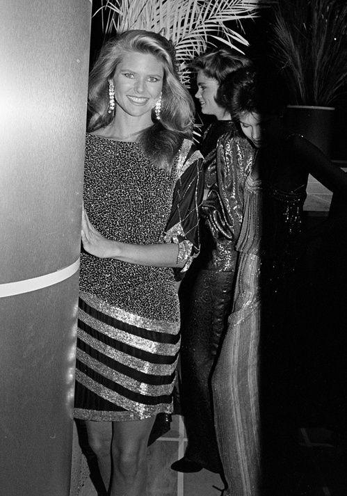Christie Brinkley look années 80