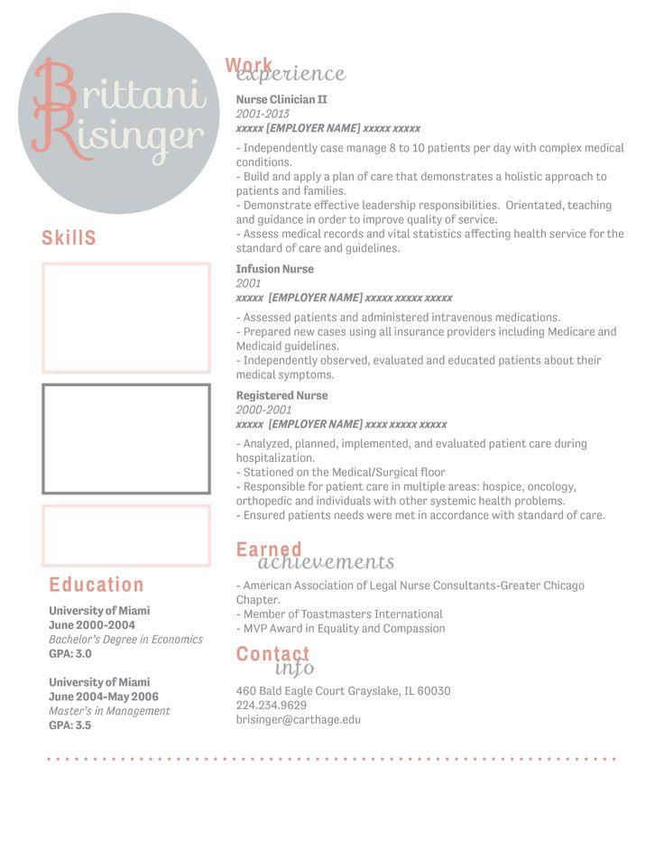 13 best Resume Design images on Pinterest Resume design, Design - infusion nurse sample resume