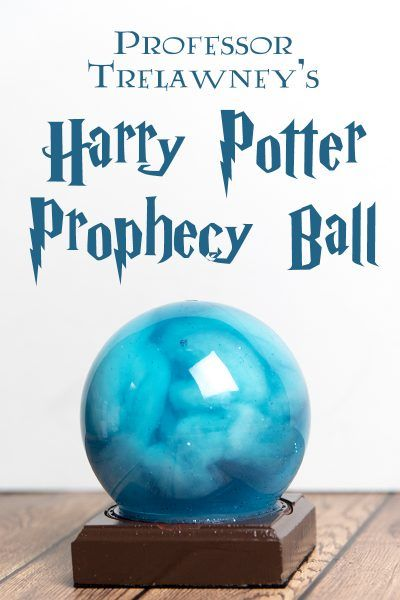 "A quick and easy craft project inspired by Professor Trelawney's prophecy, from ""Harry Potter and the Order of the Phoenix"" #harrypotterfan"