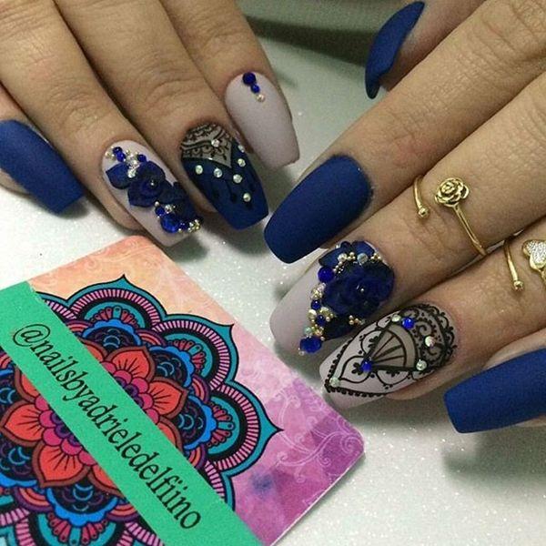 73 best nails images on Pinterest | Nail art designs, Nail design ...