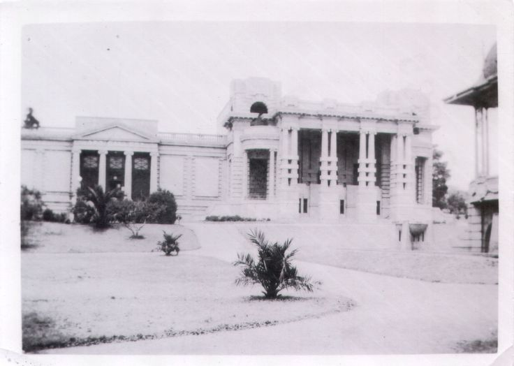 Art Gallery, Geelong.  Kodak print / Velox - 1940s-50s [?]. Size 8.5 x 6.5 cm