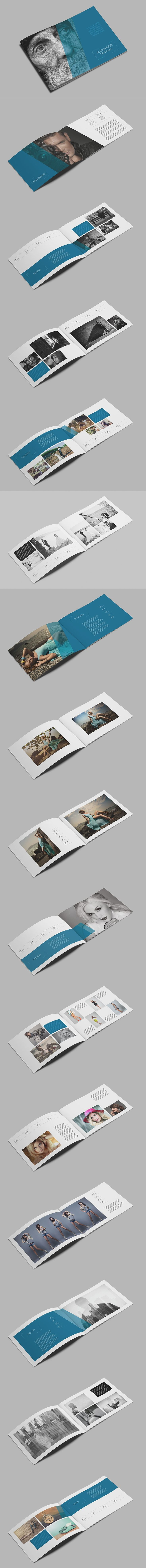 Photography Portfolio Brochure Template InDesign INDD - 36 Custom Pages