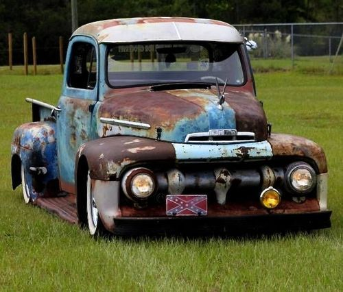 Low Rat Ford Truck..