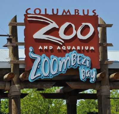 Columbus Zoo & Aquarium in Ohio....we have to check this out! They have  a polar bear viewer thing, where there's a see through ceiling and the polar bears can swim above us and stuff!