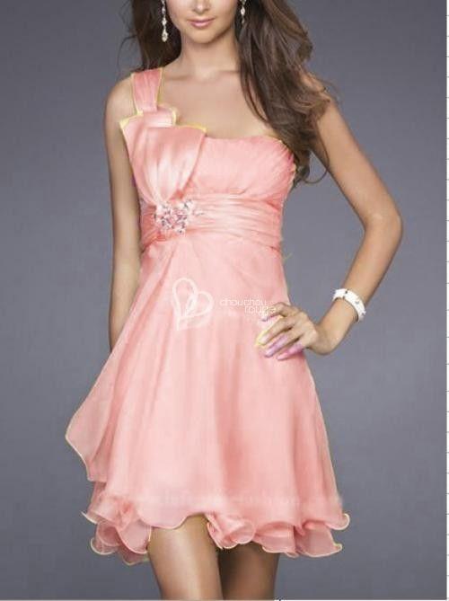 vestidos de promocion de primaria cortos chicle - Buscar con Google
