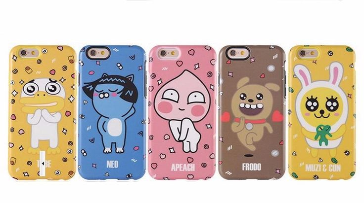 KAKAO TALK FRIENDS iPhone 6, 6 Plus Hard Case Cover Protector #Kakao