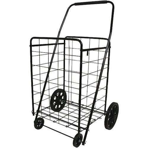Helping Hand - 4-Wheel Deluxe Folding Cart - Black