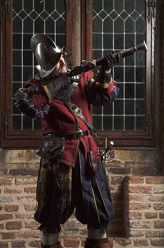 ca. 1630 reproduction - 80 Year's War Spain-Holland, by www.olsderart.nl