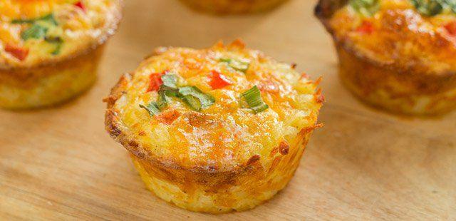Muffiny wytrawne z papryką