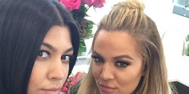 How To Get Khloe Kardashian's Half Bun Hair