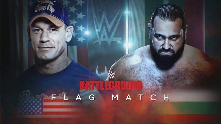 In a Flag Match @johncena vs @rusevig. I'll be covering @wwe Battleground on @youtube! . . http://www.youtube.com/tigerhite . . . #prowrestling #wrestling #professionalwrestling #indiewrestling #mma #fight #mixedmartialarts #fighting #youtube #youtuber #content #contentcreator #WWEBattleground #wwe #battleground #johncena #rusev  #flagmatch