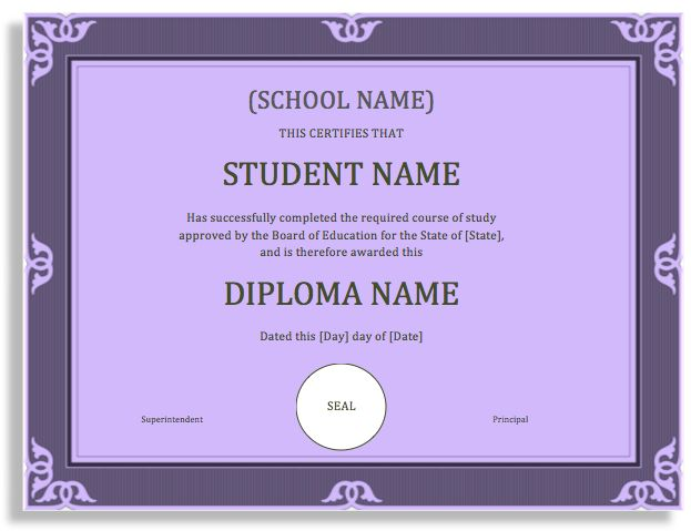 The 25+ best Degree certificate ideas on Pinterest College - degree templates
