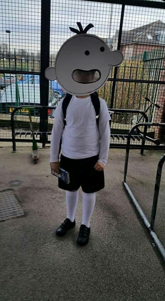 Costume Wolrd Book Day Wimpy kid,  Disfraz Diario de Greg