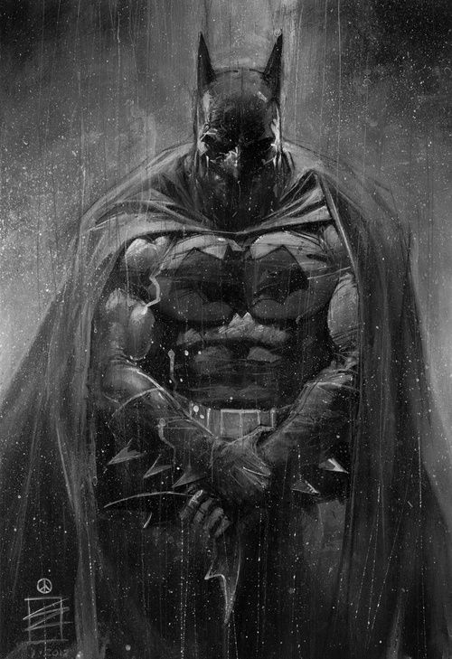 Batman of Gotham...Hey Nate! I would love for you to do me a 8 1/2 x 11 sketch of this....Hint, Hint, Hint  :)