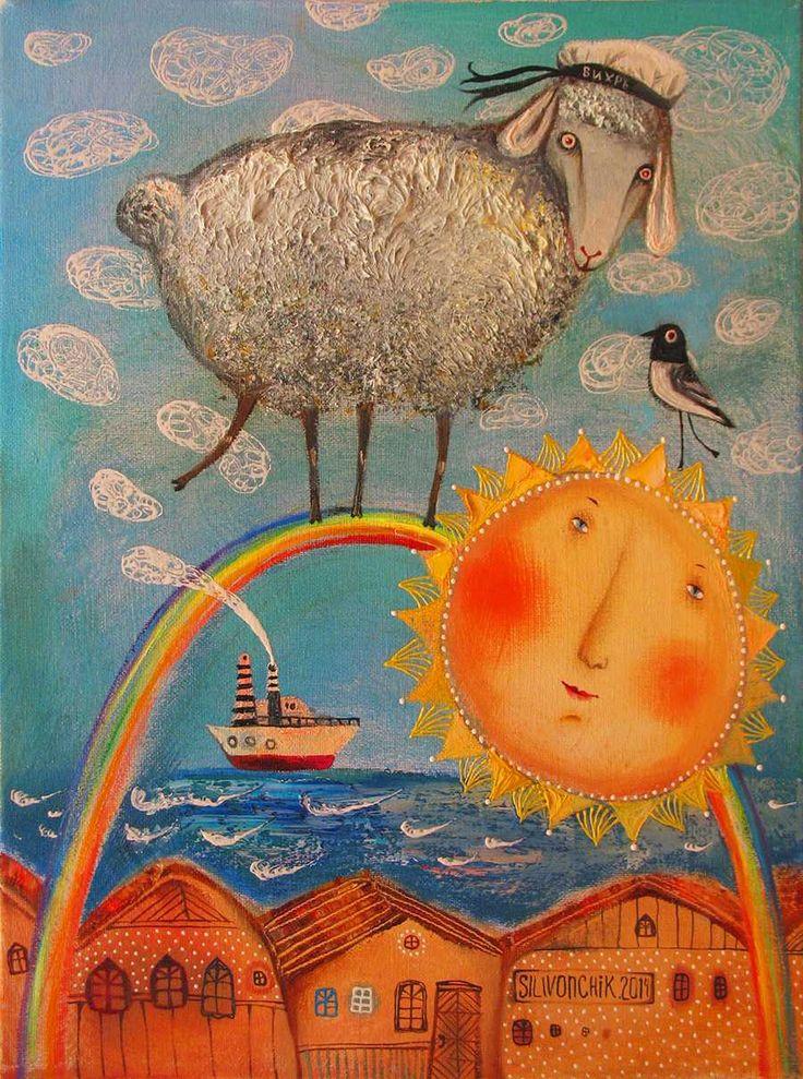 Wonderful piece by artist Anna Silivonchik from Belarusse
